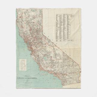 Estado de California 2 Manta De Forro Polar