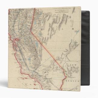 """Estado de California Carpeta 1 1/2"""""""
