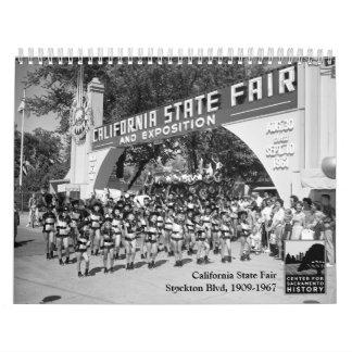 Estado de California justo - bulevar de Stockton,  Calendario De Pared