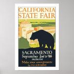 Estado de California justo Impresiones
