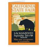 Estado de California justo Tarjeta De Felicitación