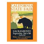 Estado de California justo Tarjetas Postales