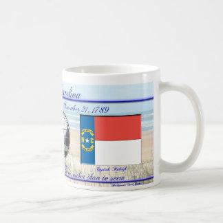 Estado de Carolina del Norte conmemorativo Tazas De Café