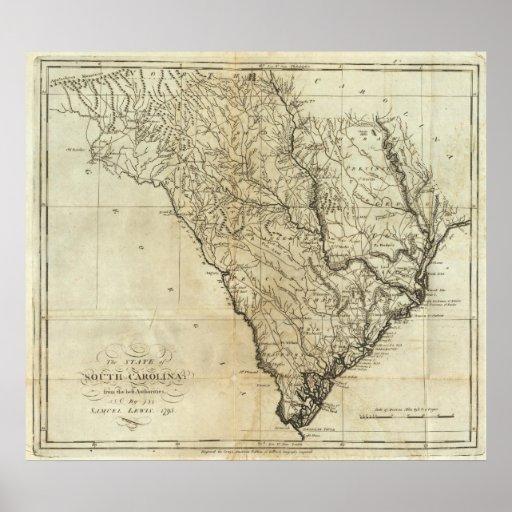 Estado de Carolina del Sur 2 Póster