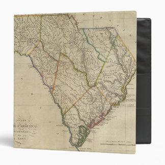 "Estado de Carolina del Sur 3 Carpeta 1 1/2"""