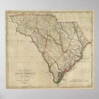 Estado de Carolina del Sur 3 Póster