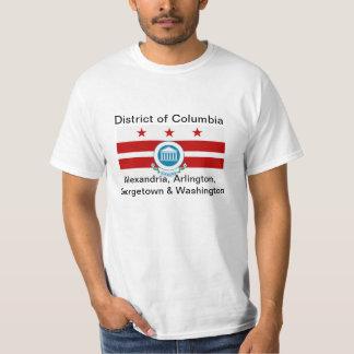 Estado de Columbia, camiseta del estado de los Playeras