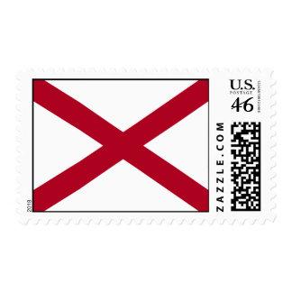 Estado de la bandera de Alabama