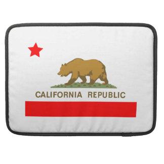 Estado de la bandera de California Fundas Para Macbook Pro