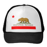 Estado de la bandera de California Gorros