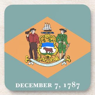 Estado de la bandera de Delaware Posavasos