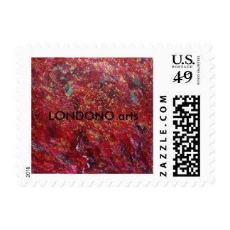 Estado de la confusión sellos postales