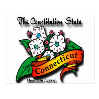 Estado de la constitución del laurel de montaña de postales
