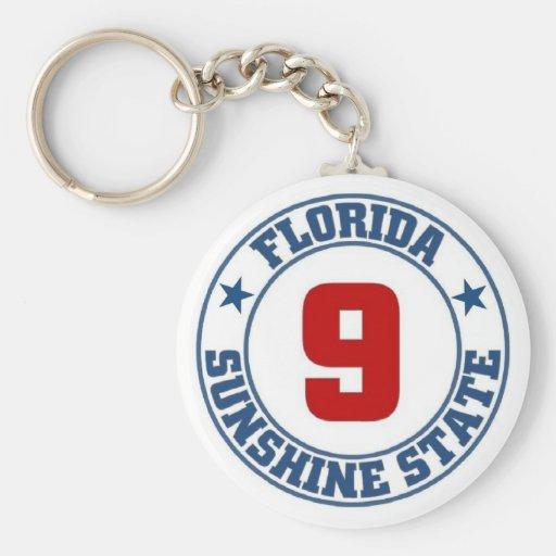 Estado de la Florida Llavero
