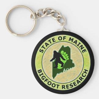 Estado de la investigación de Maine Bigfoot Llavero