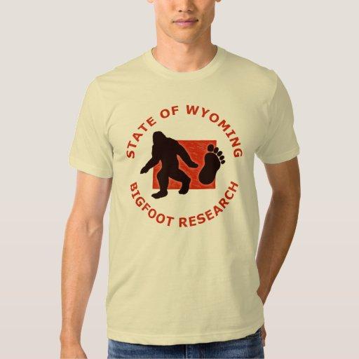 Estado de la investigación de Wyoming Bigfoot Playeras