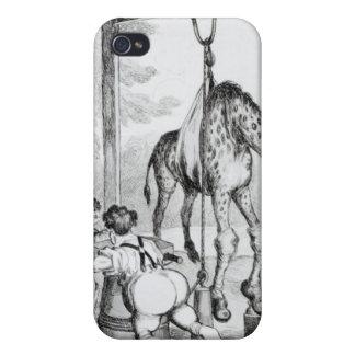 Estado de la jirafa, 1829 iPhone 4/4S fundas