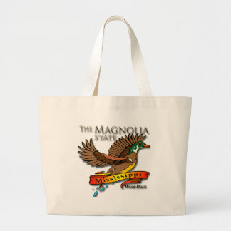 Estado de la magnolia del pato de madera de Missis Bolsa De Mano