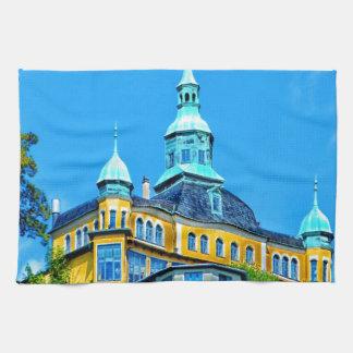 estado de la mansión del castillo del palacio de A Toallas