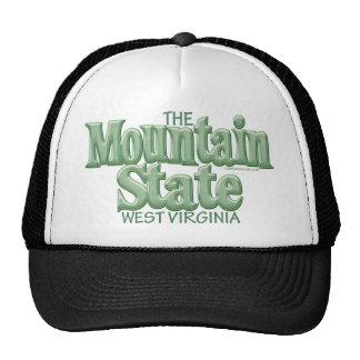 Estado de la montaña, Virginia Occidental Gorros