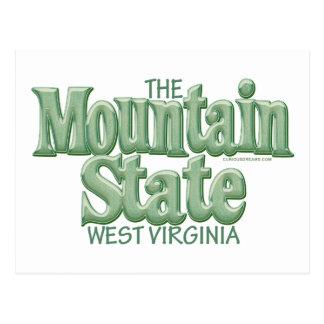 Estado de la montaña, Virginia Occidental Postal