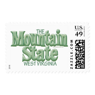 Estado de la montaña, Virginia Occidental Sellos Postales