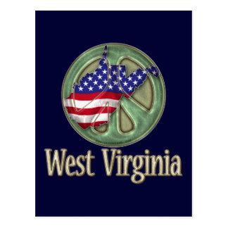 Estado de la paz de Virginia Occidental Postal