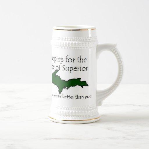 Estado de la taza superior