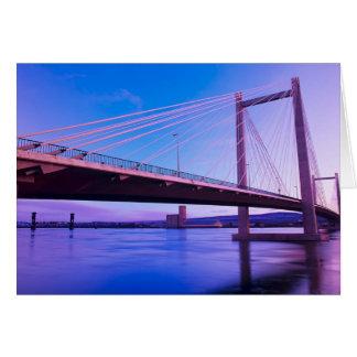 Estado de los E.E.U.U., Washington. El río Columbi Tarjeta De Felicitación