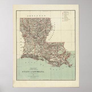 Estado de Luisiana Impresiones