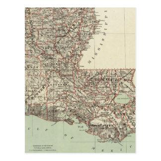 Estado de Luisiana Tarjetas Postales