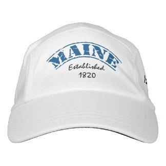 Estado de Maine establecido Gorras De Alto Rendimiento
