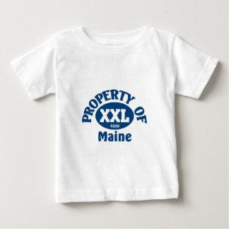 Estado de Maine Playera De Bebé