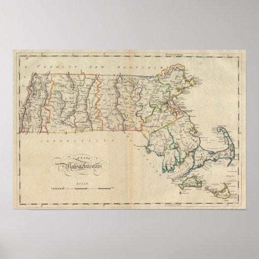 Estado de Massachusetts 3 Póster