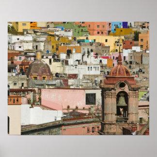 Estado de México, Guanajuato, Guanajuato. Templo d Póster