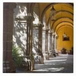 Estado de México, Guanajuato, San Miguel de Allend Azulejo Cuadrado Grande