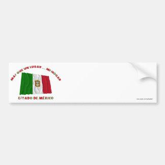 Estado de México - la O.N.U Lugar… MI Hogar de Más Pegatina Para Auto