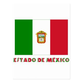 Estado de México Unofficial Flag Postcard