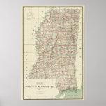 Estado de Mississippi Póster