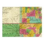 Estado de Missouri y del territorio de Arkansas Postales