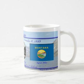 Estado de Montana conmemorativo Tazas De Café