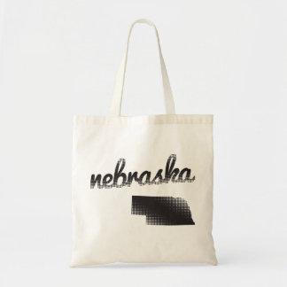 Estado de Nebraska Bolsa Tela Barata