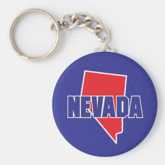 Estado de Nevada Llavero Personalizado