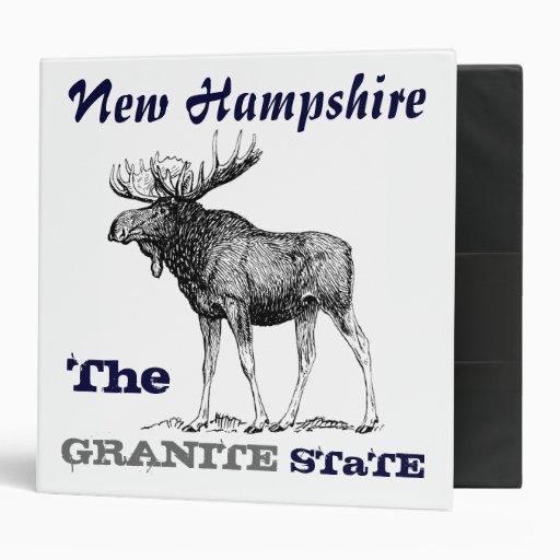 Estado de New Hampshire (el alce del granito)
