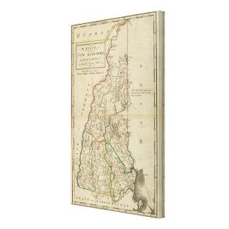 Estado de New Hampshire Impresiones De Lienzo