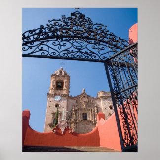 Estado de Norteamérica, México, Guanajuato. Póster