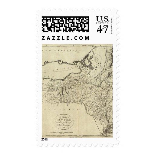 Estado de Nueva York Sello Postal