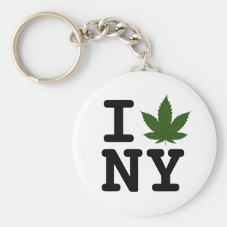 Estado de Nuevo York de la mente Llavero Redondo Tipo Pin