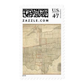 Estado de Ohio 2 Sello Postal