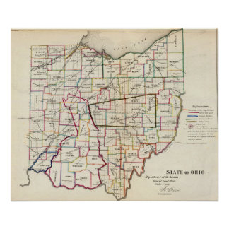 Estado de Ohio Póster